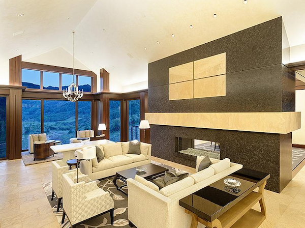 50000000 Compound In Snowmass Village Colorado living room $50,000,000 Compound In Snowmass Village Colorado