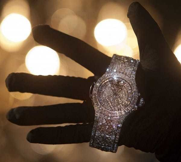 Hublot 5mil Big Bang Jay Zs Birthday Present from Beyonce: A $5 Million Hublot Big Bang Watch