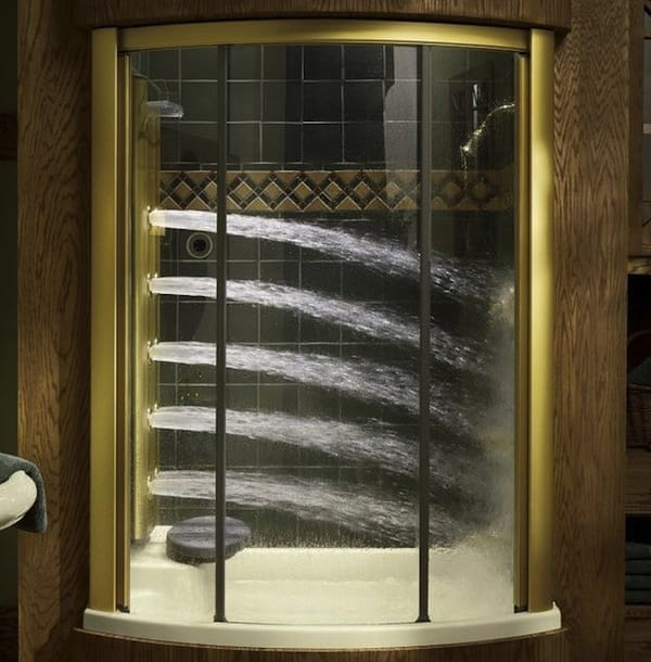 4 bodyspa shower system by kohler - Luxury Showers