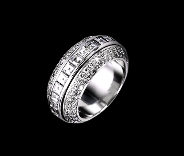 luxury wedding rings for those with no budget