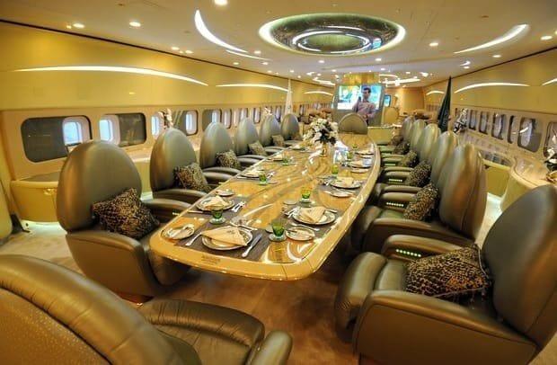 Double Decker Airbus A380 Custom Interior