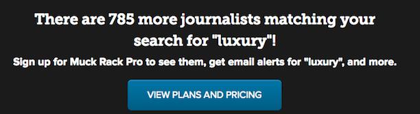 muckrack luxury journalists