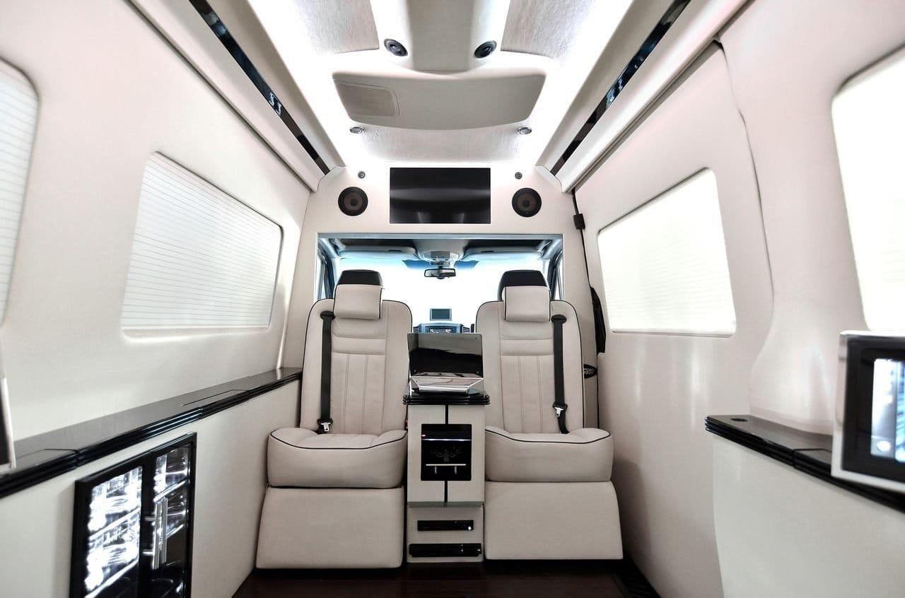 Tricked Out Mercedes-Benz Sprinter Van by Bespoke Coachworks