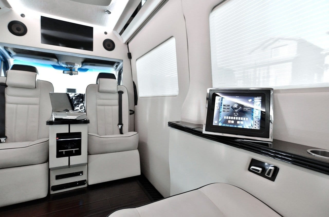 Tricked Out Mercedes Benz Sprinter Van By Bespoke Coachworks
