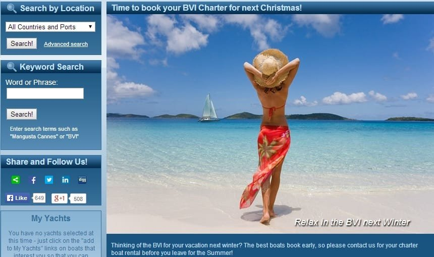 BoatBookings Yacht Charter Affiliates