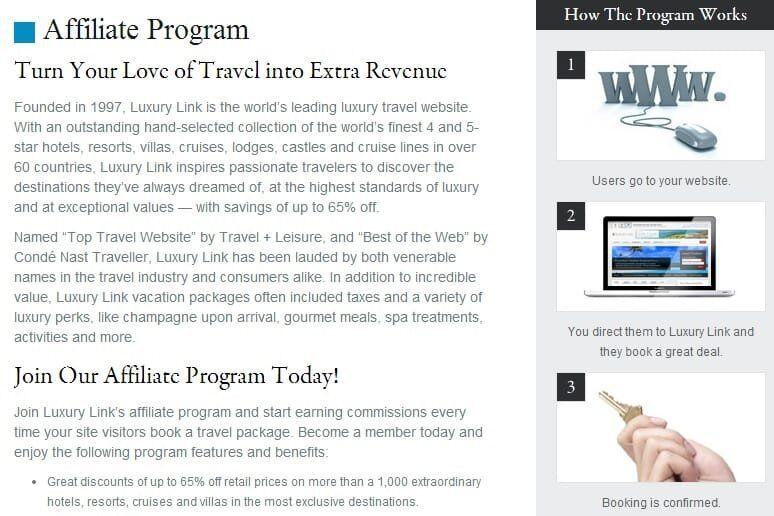 Luxury Link Affiliates