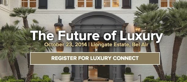 2014 Future Of Luxury