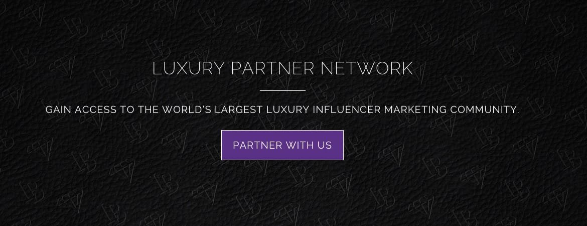 partner with luxury branded