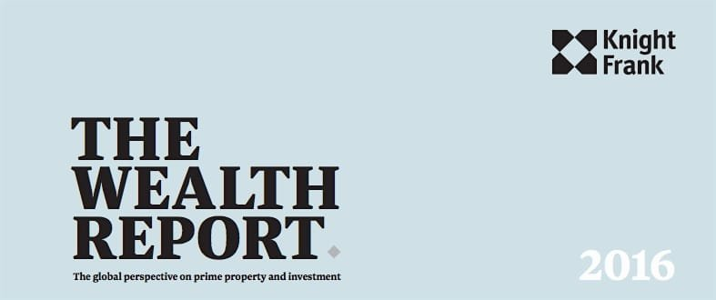 knight frank 2016 wealth report